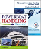 Advanced powerboat handling