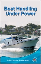 Boat handling under power